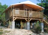 Panorama Tent Lodge- sleeps 4 people - 2 rooms - 20 m² + a 12 m² sheltered terrace